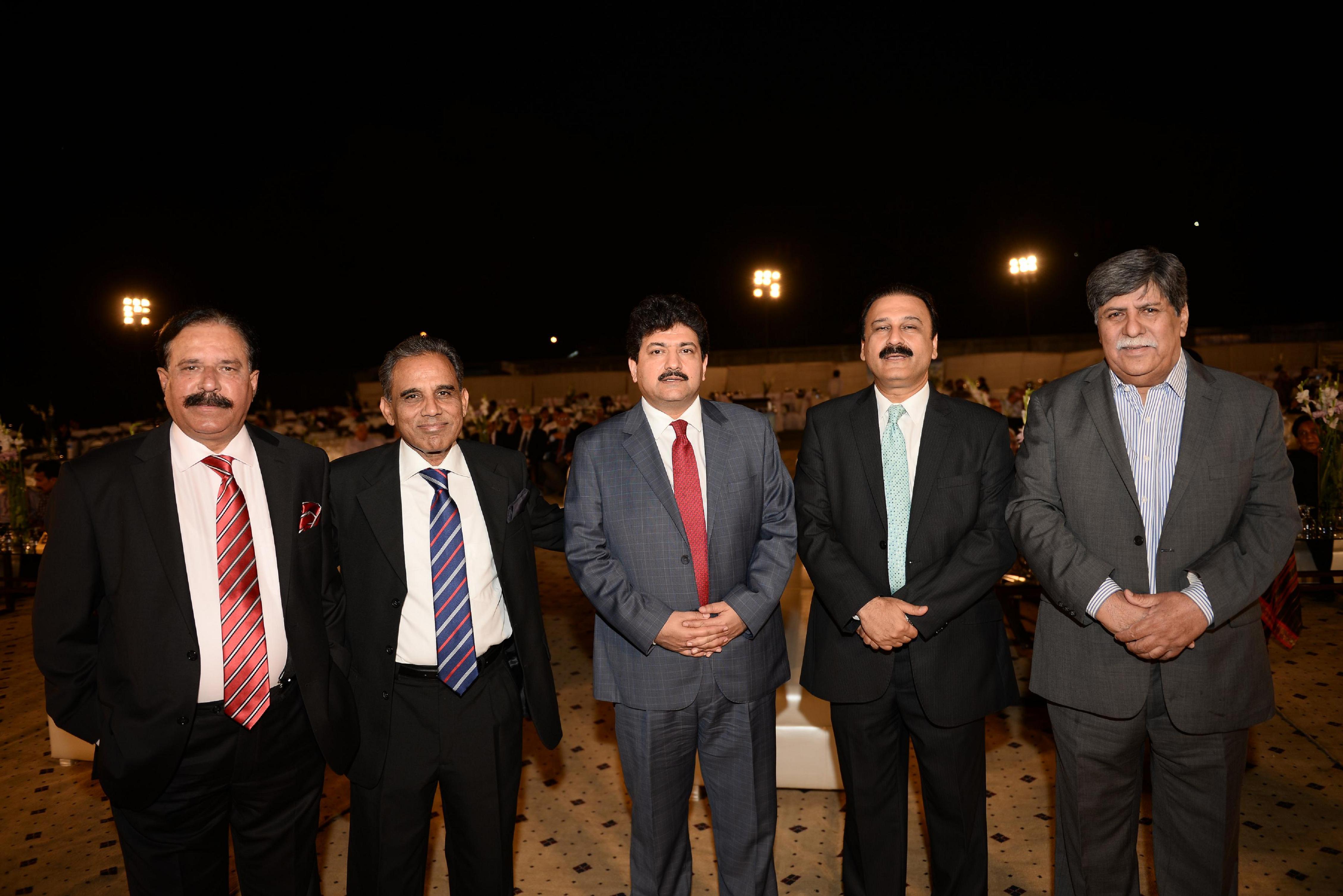 Mr. Kazi Afaq, Mr. Hamid Mir, Dr. Khalid Butt & Mr. Asghar Nadeem Syed