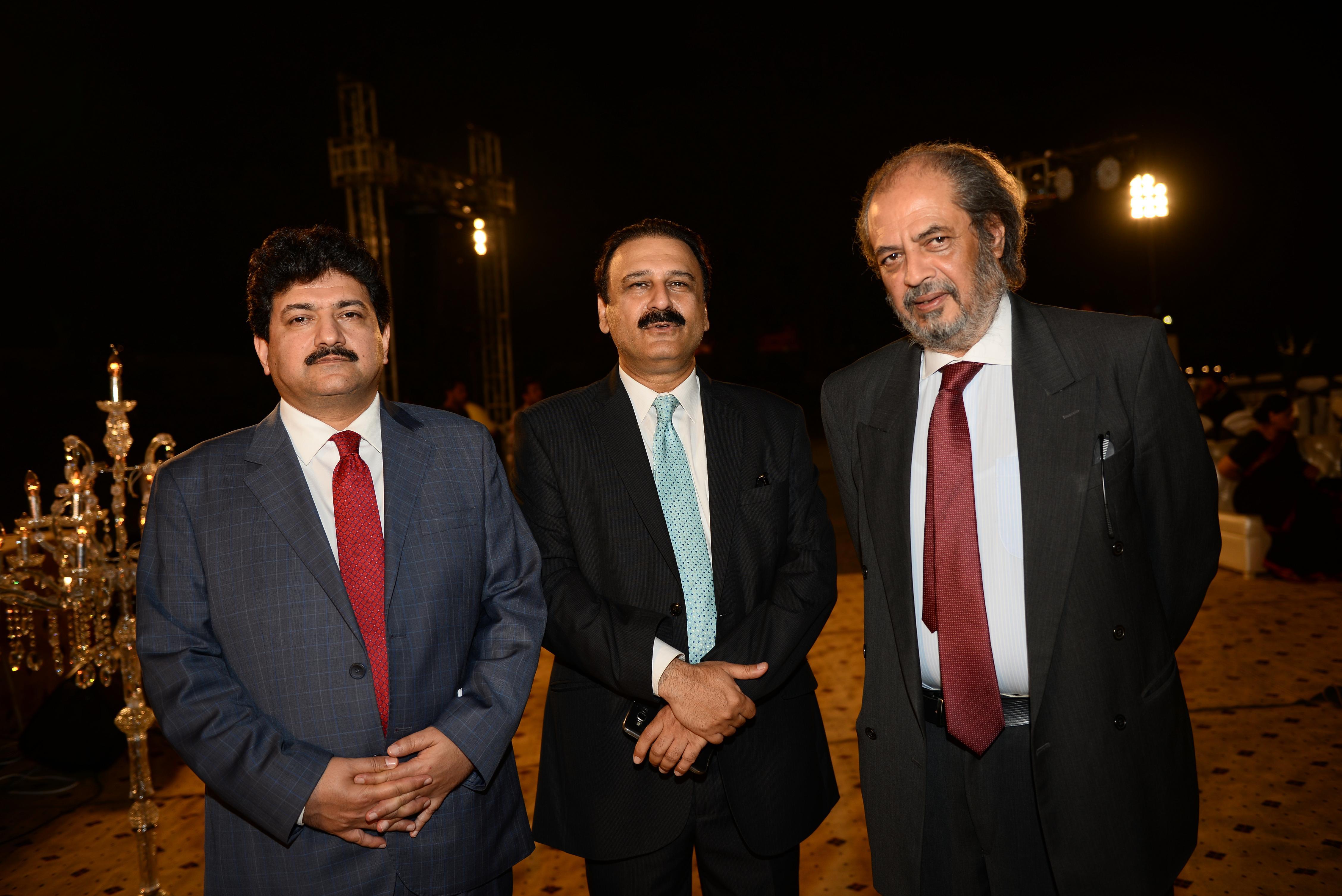 Mr. Hamid Mir, Dr. Khalid Butt & Dr. Hassan Amir Shah