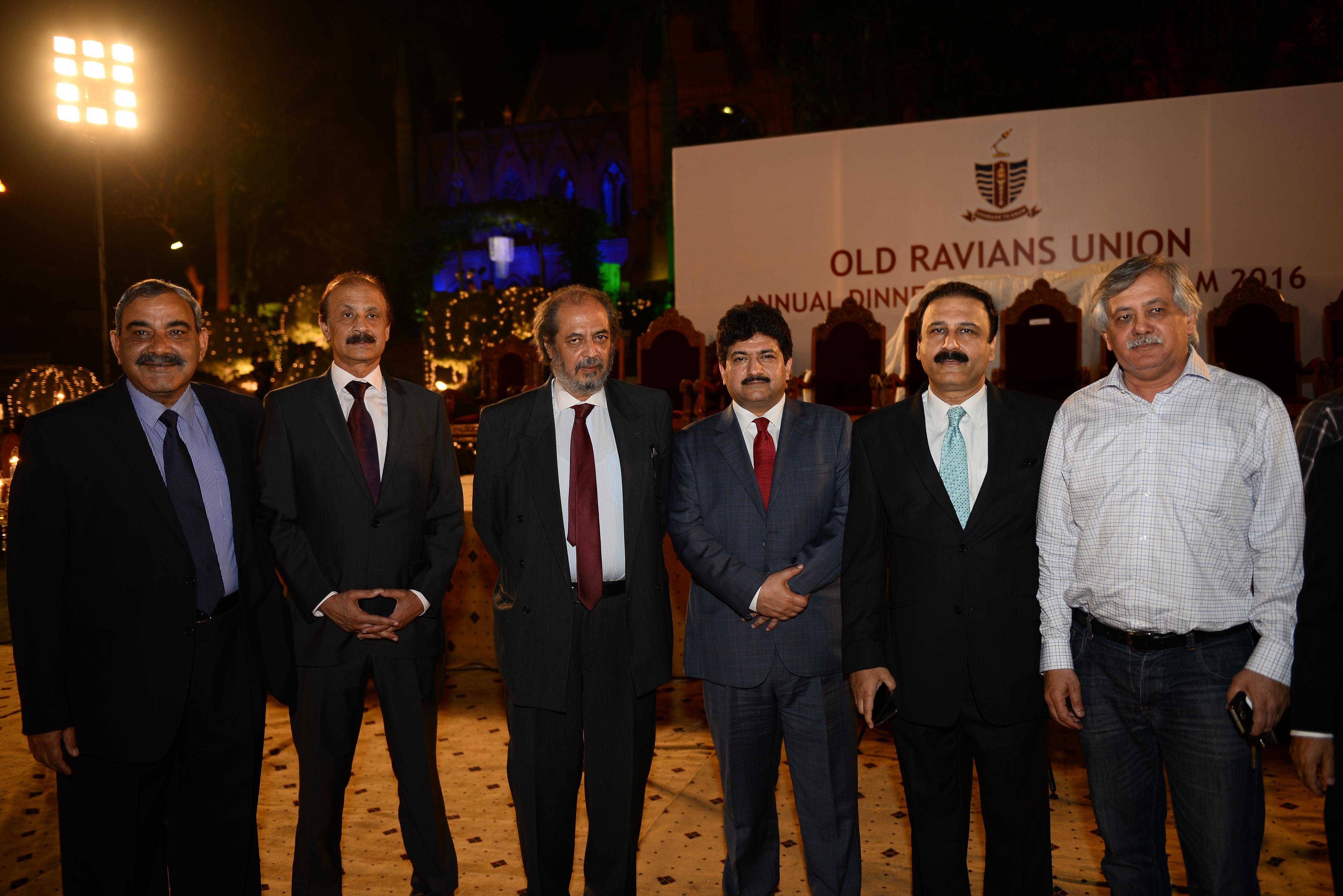 Mr. Lashari, Dr. Shah, Hamid Mir & Dr. Butt