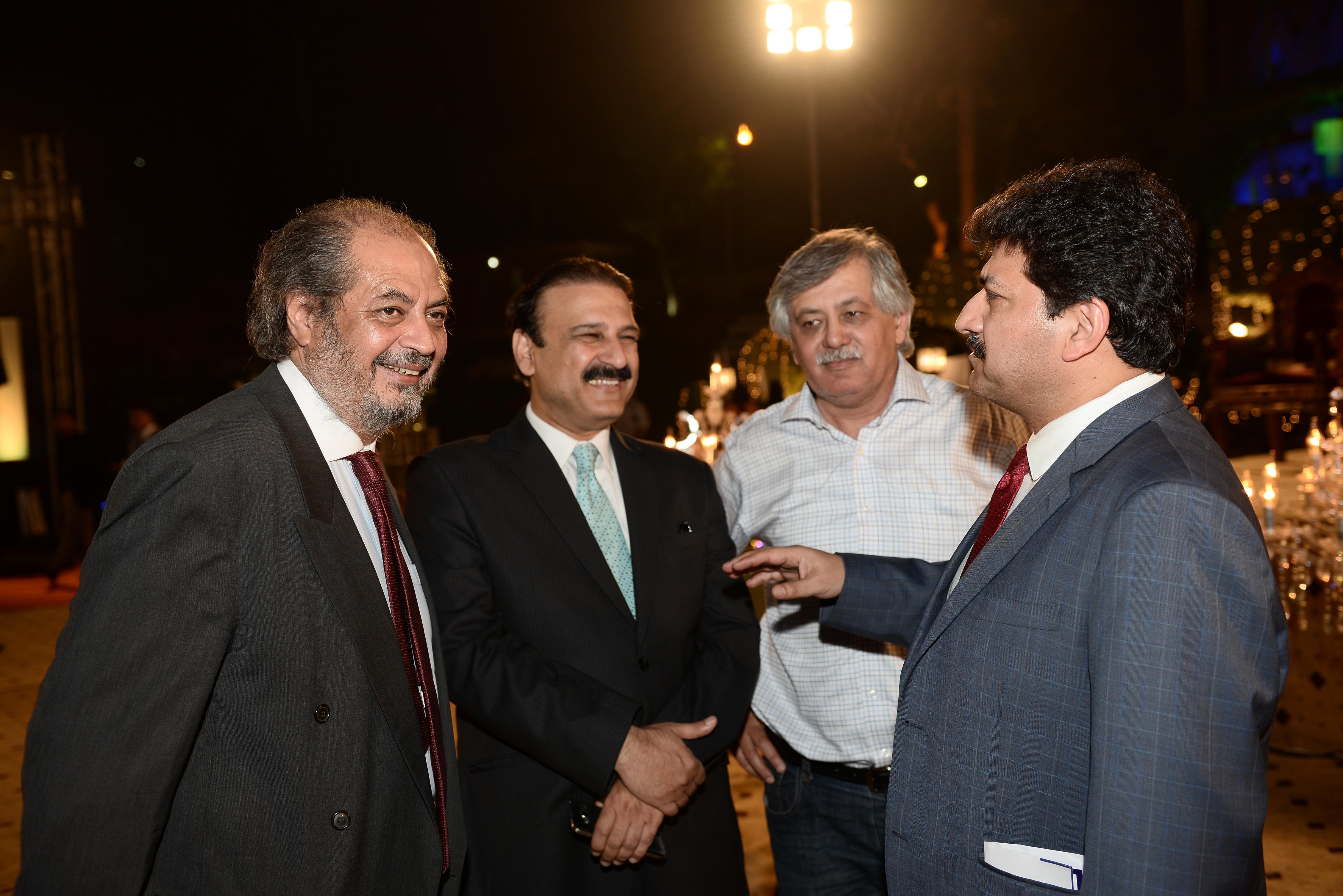 Dr. Shah, Dr. Butt & Hamid Mir