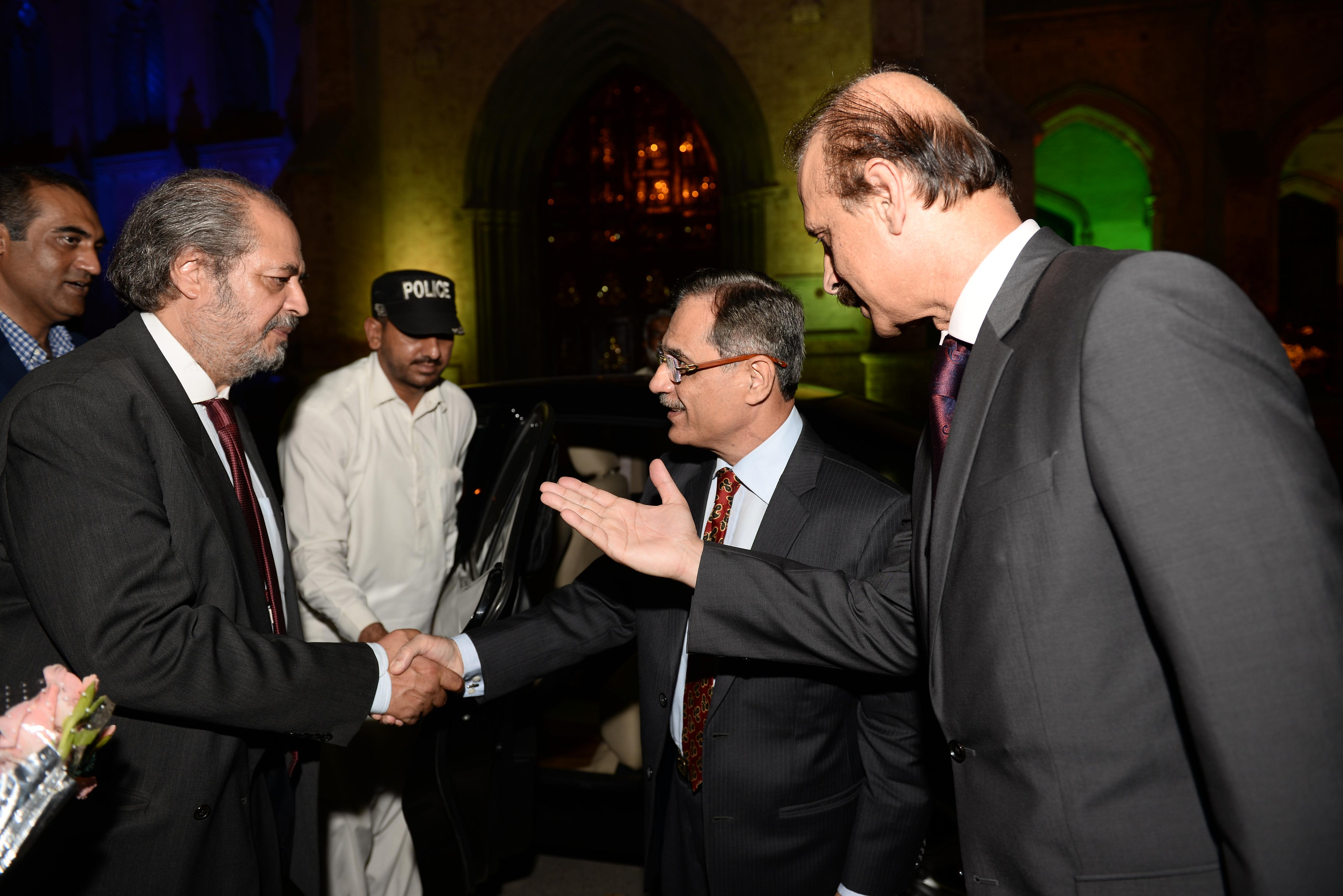 Dr. Shah, Mr. Lashari & Chief Guest