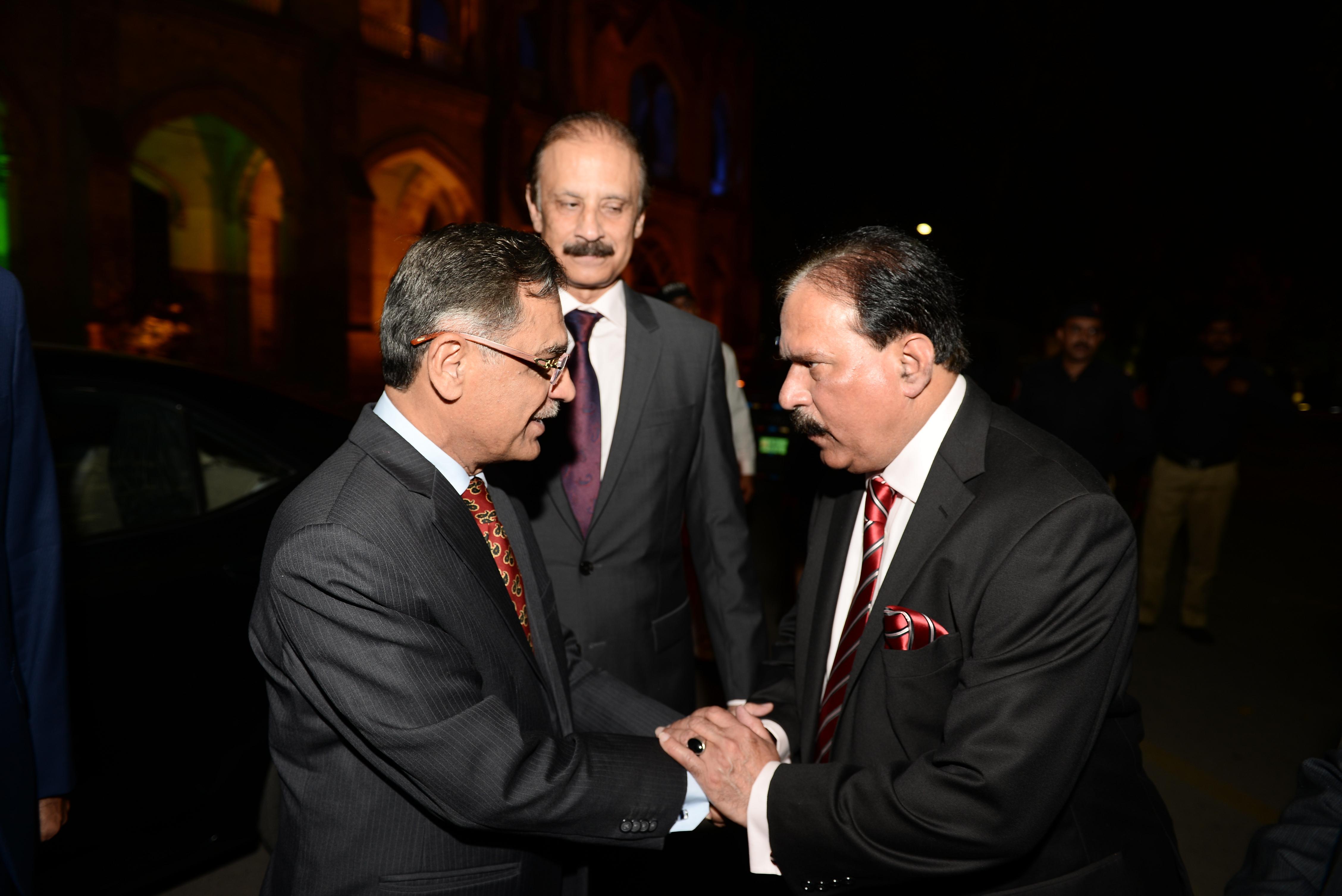 Mr. Kazi Afaq & Justice Saqib Nisar