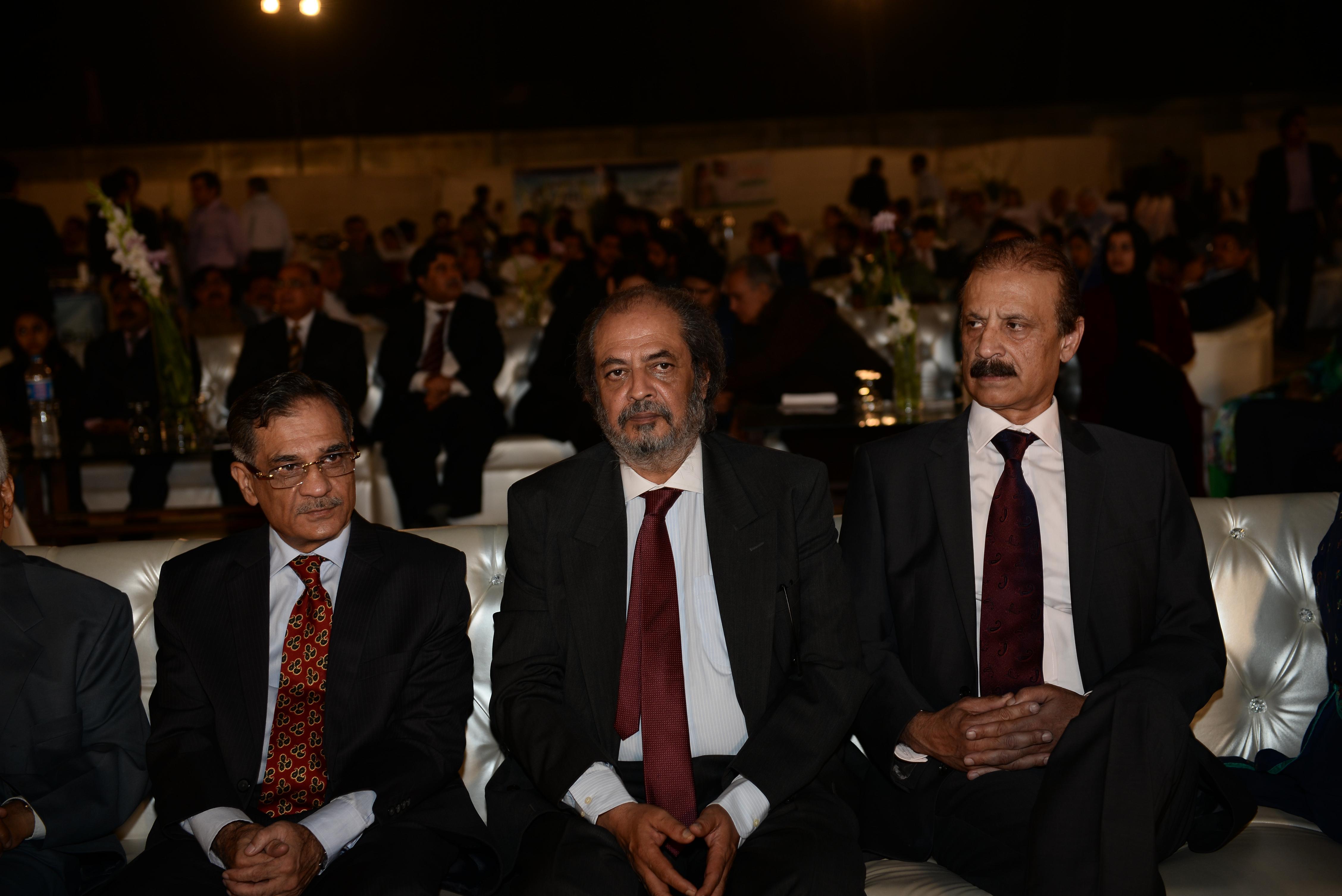 Justice Nisar, Dr. Shah & Mr. Lashari