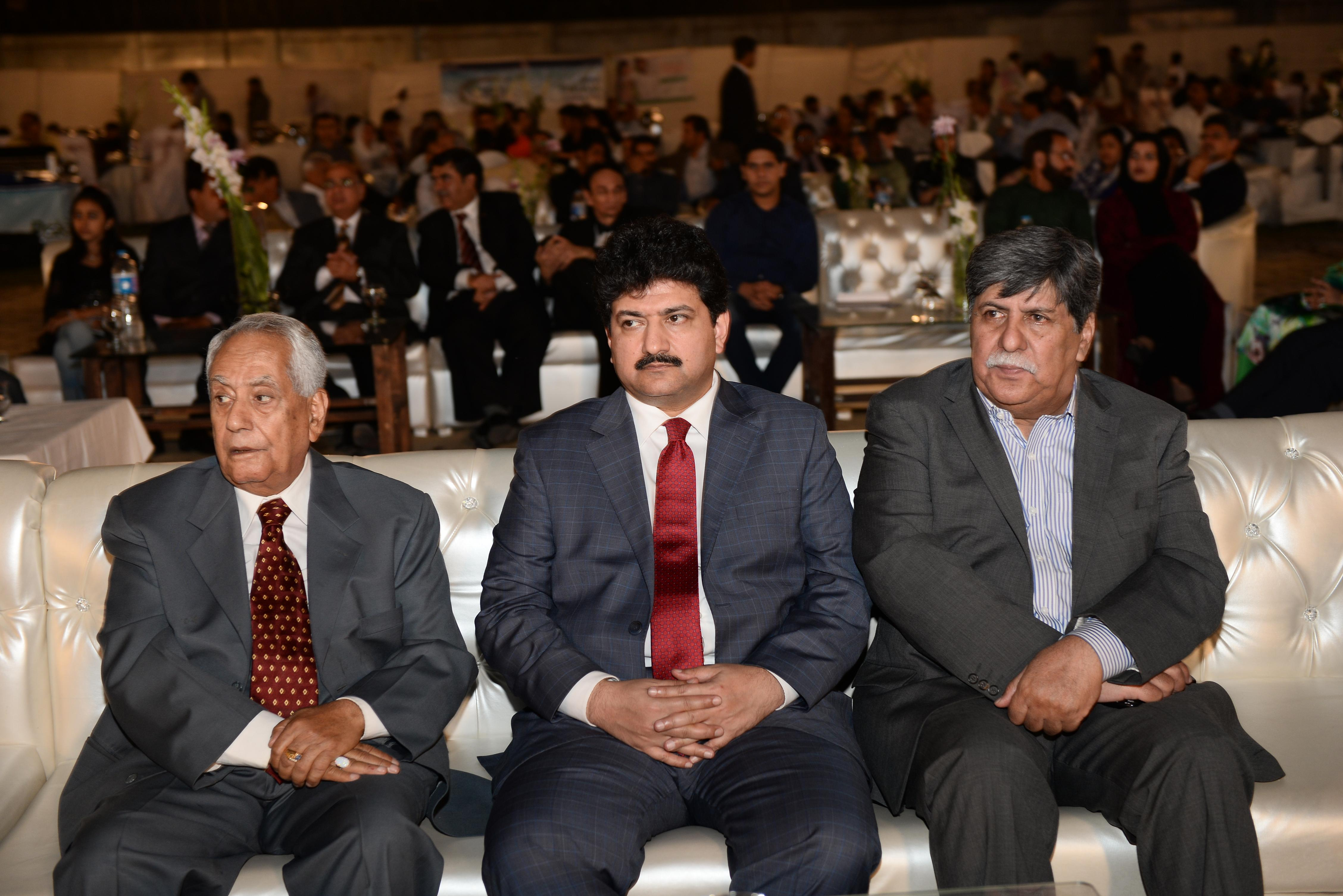 Mr. Hamid Mir, Asghar Nadeem Syed