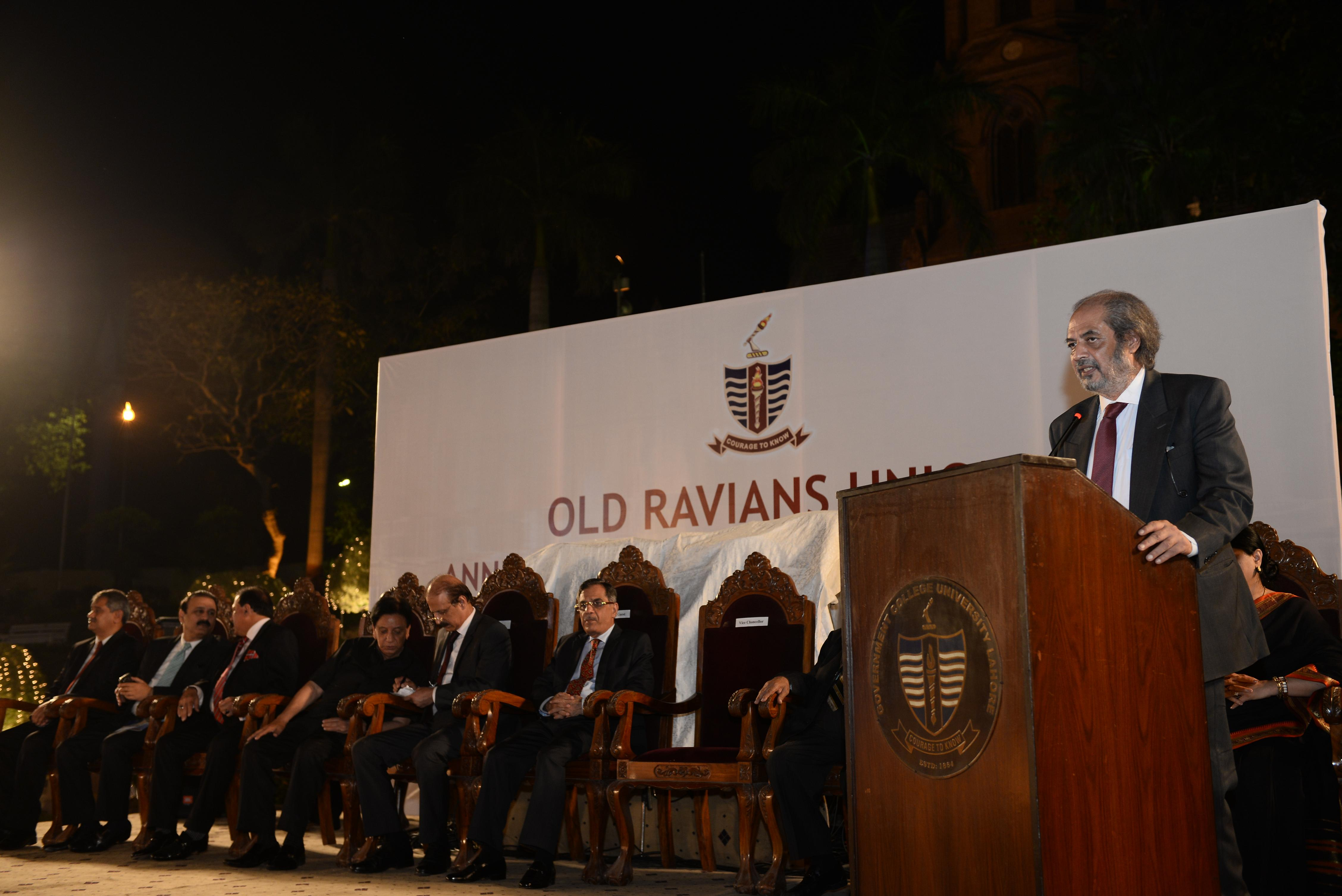 Speech by Dr. Hassan Amir Shah (VC)