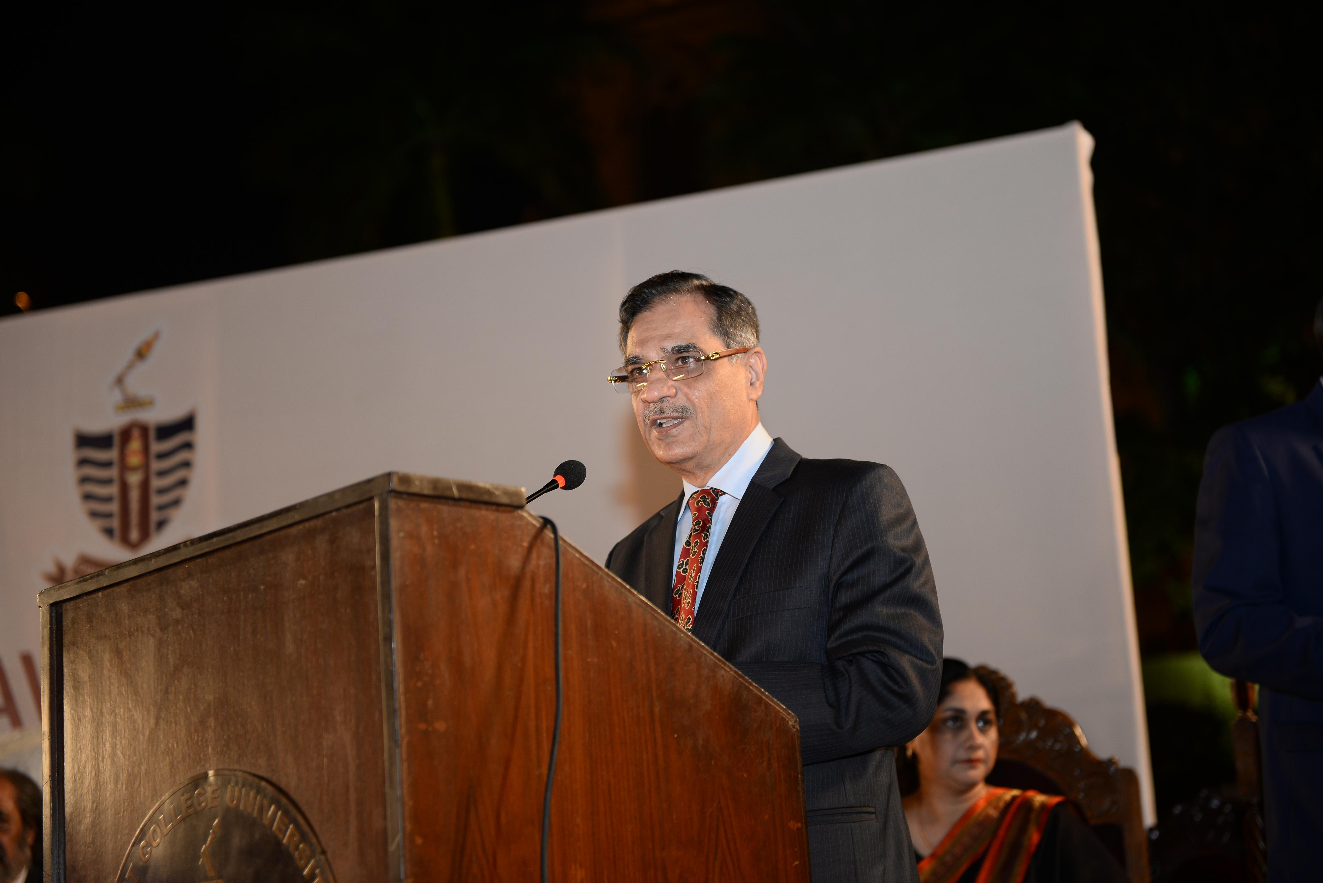 Justice Saqib Nisar (Chief Guest)
