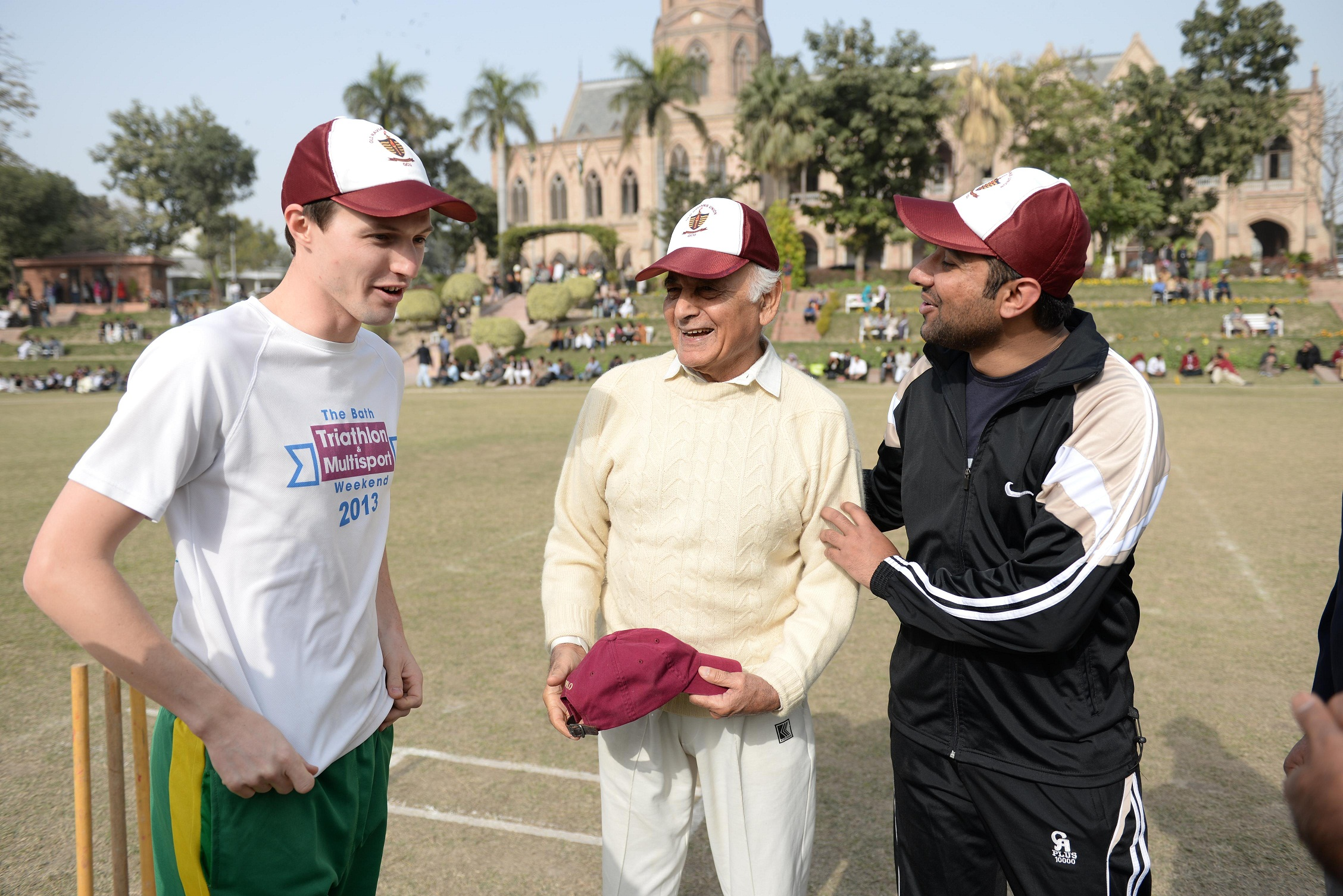 Mr. Ben French and Mr. Parvez Masud (Two Captain)