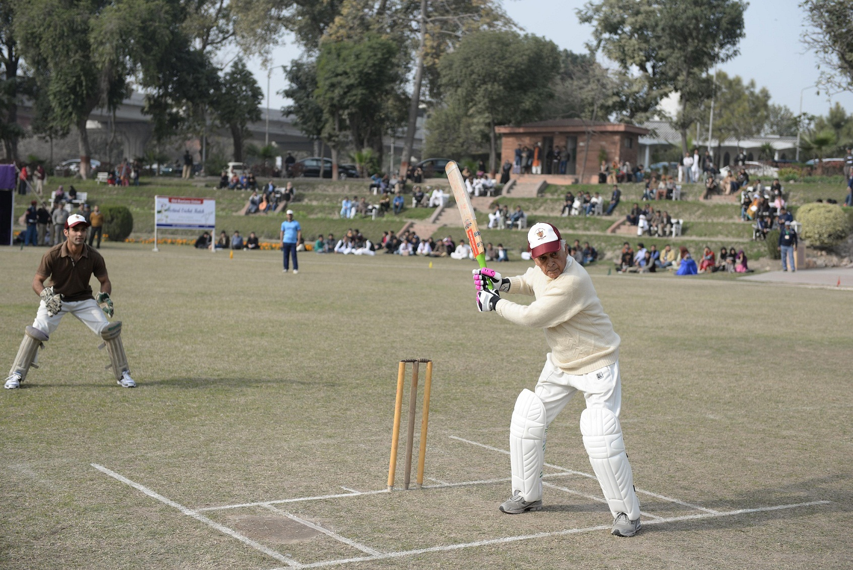 Mr. Parvez Masud playing shot