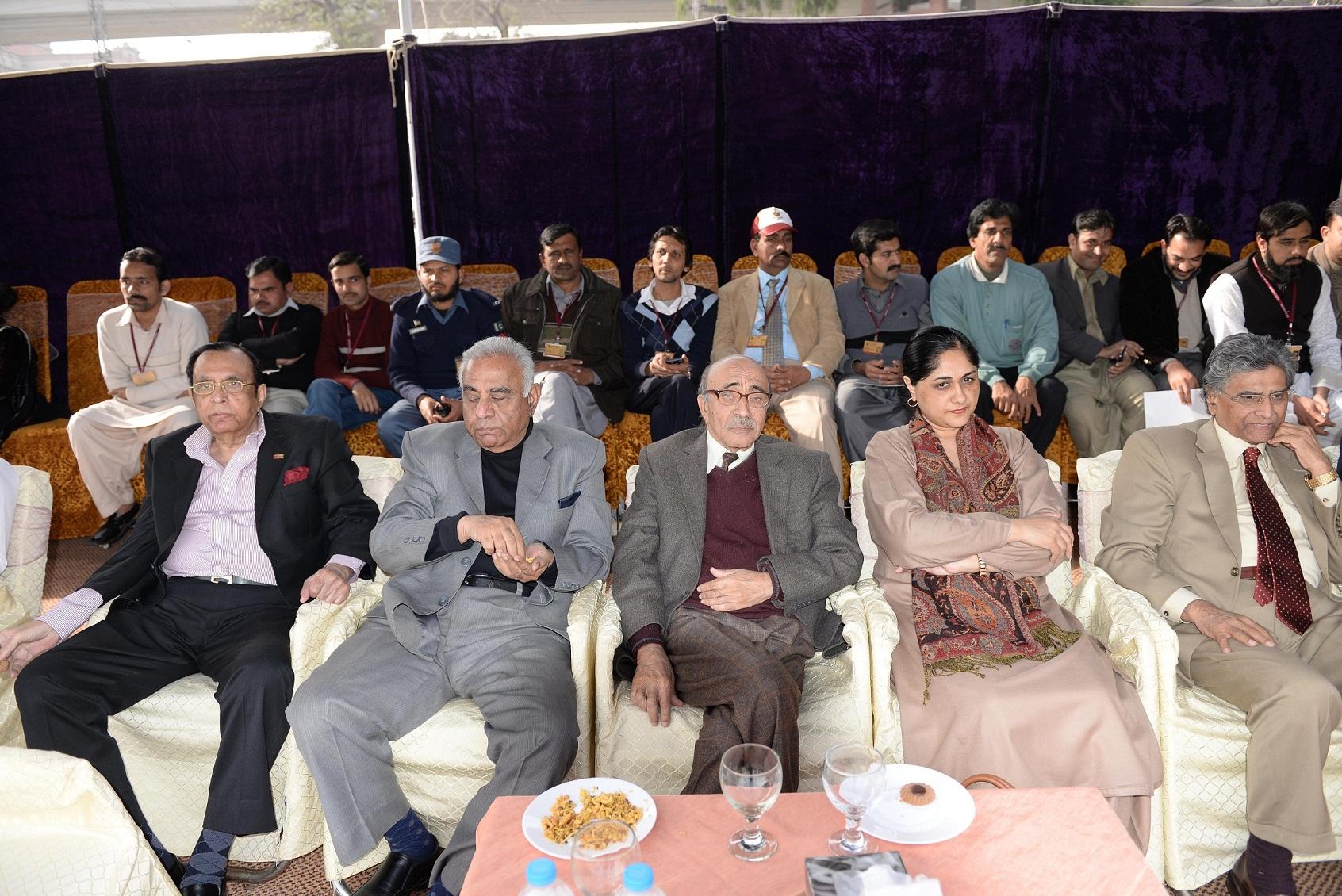 Mr. Naeem Tahir, Dr. Farhat, Dr. Sheeba & Dr. Ikram